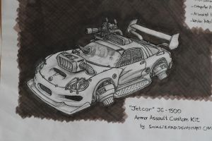 Jetcar Concept by sicklizard