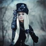 Girl with top hat by SelenaAdorian