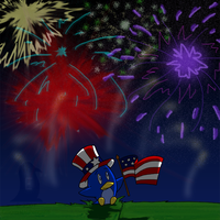 Happy Fourth of July by EnigmaticPenguin