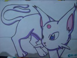 Espeon by Raipeee