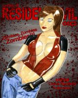 Claire Redfield Ladies of Resident Evil Exposed by Chuck-K