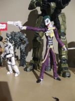 Injustice Gods Among Us Paper Joker Figure by tdub123