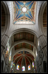 Cathedral in Madrid 2 by Xalira