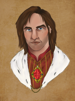 Commission : Martin Septim by MisterKristeval