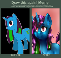 Draw This Again Meme by Picklesquidly