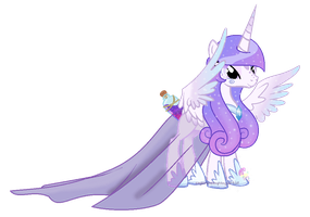 Contest entry Bottle wish princess by SugarMoonPonyArtist