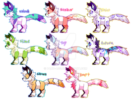 Monster Puppies for sale ya! by Pand-ASS