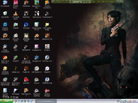 Desktop Screenshot 6-10-2008 by Caria
