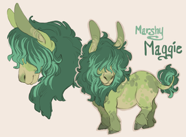 MARSHY MAGGIE by AgentDax