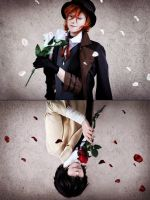 Bungou Stray Dogs - Chuuya and Dazai by TemeSasu