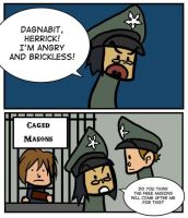 Caged Masons by Kaxen6