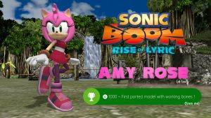 Sonic Boom - Amy Rose (read description !) by FatalitySonic2