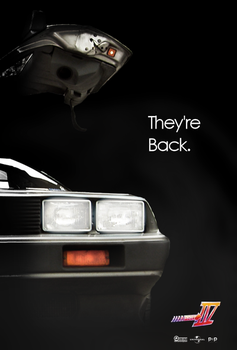 Back To The Future IV - Fan Poster by P2Pproductions