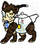 Rare Kettle Kitten :OPEN AUCTION: by InkQueenPilus