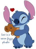 Stitch - Fuzzy plushie love by Daffupanda