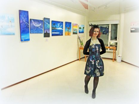 Exhibition opening by Wolverica
