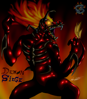 Pyrus Demon of fire by MrSman5
