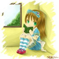 Reading Alice by christon-clivef