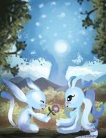 Aria and Ori by TheLittleGriffin