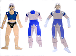 Superhero Dollies: Ice by BaaingTree