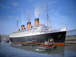 Queen Mary by lusitania25