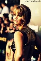 Jennifer Lawrence Hunger Games Premiere L.A by WhovianForLife