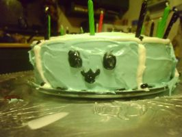 Dad's b-day cake 1 by ArtsyLibrarian