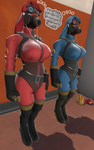 2 Pyro Girls Brainwashed and Reprogrammed by filflat