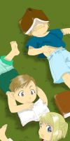 ED, Al and Winry : Childhood by MimiSempai