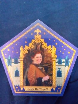my Harry potter hufflepuff chocolate frog card by aliciamartin851
