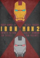 Iron Man 2 (2010) - Poster by Stormy94