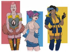 Red-Blue-Yellow Dieselpunk by Provo-L-Escroc
