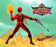 Sentai Hero : MagiRed by HK666