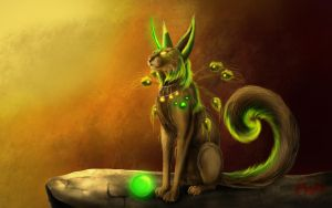 ...::: Green Pandeycorn :::.... by AmorpheusArt