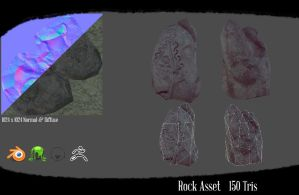 Rock asset #2 by NetGhost03