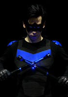 I'm Nightwing, and you are arrested! by Starblom