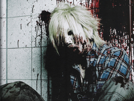 Bloody Ruki Wallpaper by Ganguro666