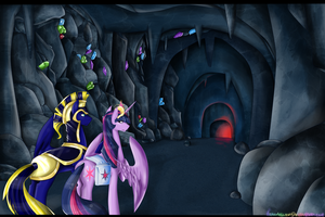 Paypal Commission - Into The Cave by NekoMellow