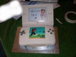 NSMB cake out of box by FlyingTanuki