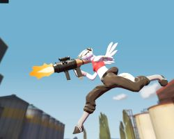 Gmod: Derpy in 2Fort by Durpy337