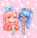 adopt set 2 ~ panty girls: {2/2 open} by noonapuffs