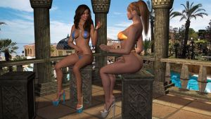 Private Cabana by 007Fanatic