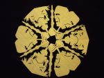 Deathly Hallows Snowflake by beep3rocks