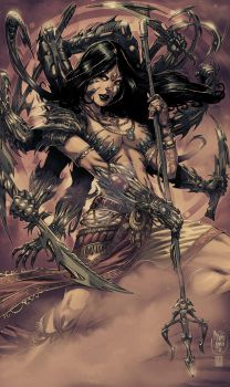 Witchblade annual 2010 by panelgutter