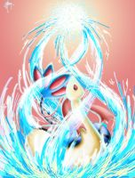 Milotic used Water Pulse by goldfishkang