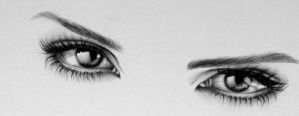 Emma Watson Eye Detail by IleanaHunter