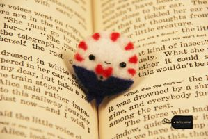 Needle felt peppermint butler (forsale) by FluffyParcel
