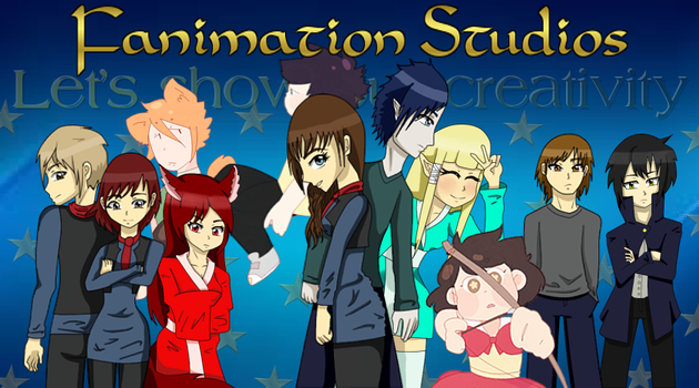 ''Welcome'' picture blog by FanimationStudio