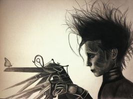 Edward Scissorhands by SilverSkywalker