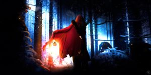 Red Hunter / Little red riding hood Act II by PixelatedSailor